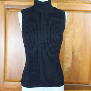 Ralph Lauren Turtle Neck Cable Knit Sweater